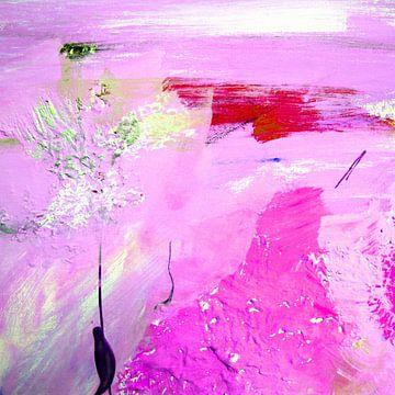 abstract pink van M.A. Ziehr