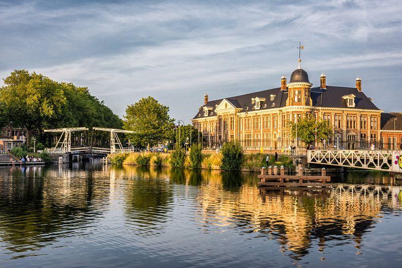 Rijksmunt, Utrecht (zonsondergang) van John Verbruggen