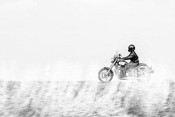 Motorradfahrer von Menno Janzen