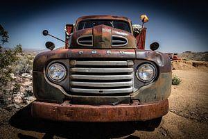 Antieke auto van