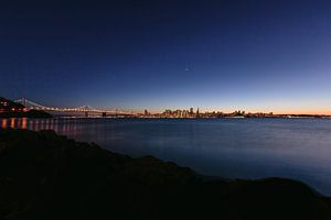 San Francisco zonsondergang van Erwin van Oosterom