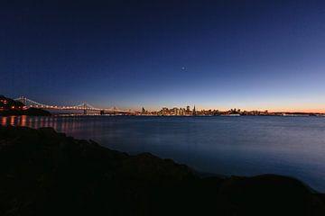 San Francisco zonsondergang sur