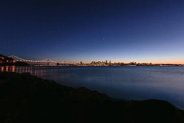 San Francisco zonsondergang van