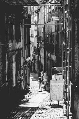 In de straten van Porto
