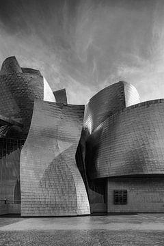 Guggenheim museum Bilboa 5 von Ronald Tilleman