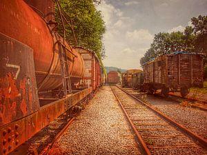 Verlaten treinen urbex