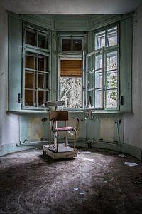 Verlaten ziekenhuis van