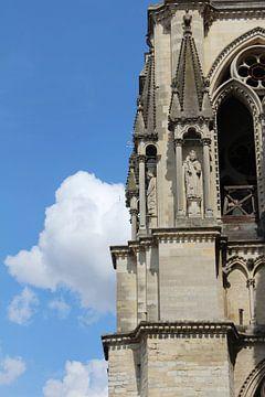 Detail van een kathedraal van EnWout