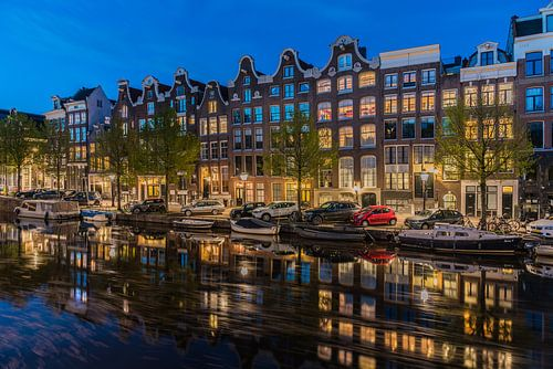 Voormalig Brouwerij Het Roode Hert aan de Prinsengracht in Amsterdam