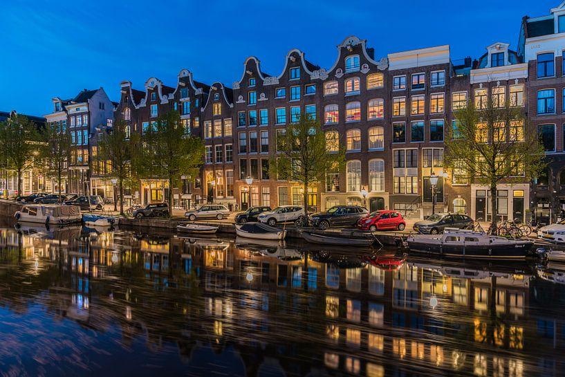 Voormalig Brouwerij Het Roode Hert aan de Prinsengracht in Amsterdam van Jeroen de Jongh