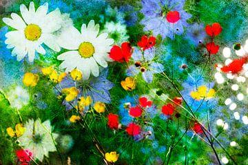 Bloemenfantasie van Corinne Welp