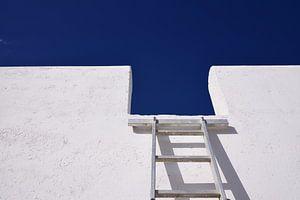 Ladder aan de muur
