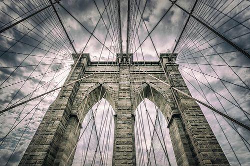 Brooklyn Bridge van Ronald Westerbeek