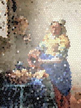 Het melkmeisje van Vermeer van Lida Bruinen