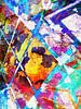 Modern, Abstract kunstwerk - When The Answers Escape Us (Rechts) van Art By Dominic thumbnail