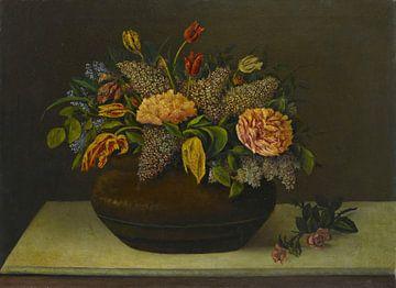 Şeker Ahmed Pascha-Stilleben mit Blumen