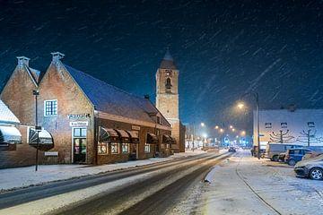 Leersum in de sneeuw, De Michaëlkerk van Marco Hoogma