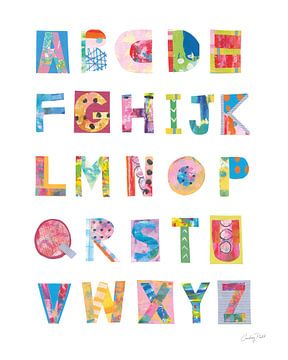 Alfabetcollage, Courtney Prahl van Wild Apple