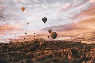 Cappodocia hete luchtballon, Ayse Yorgancilar van 1x