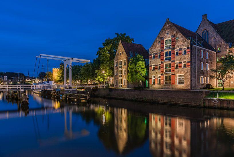 Thorbeckegracht Zwolle van Jeroen de Jongh