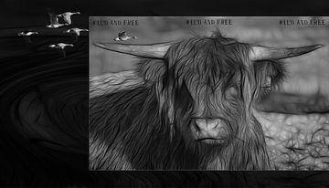 Ruhendes Vieh von Carla van Zomeren