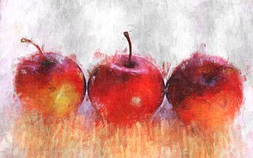 Apfel trio van Roswitha Lorz