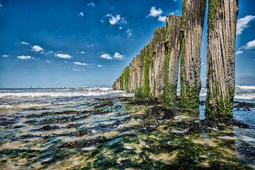 Sea and Blue van Roland de Zeeuw fotografie