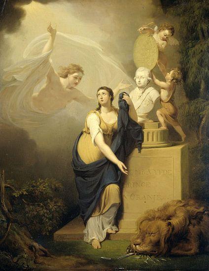 Allegorie op de dood van Willem V, Jan Willem Pieneman