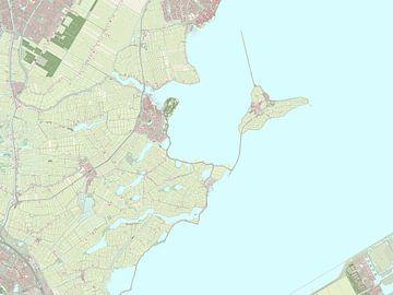 Kaart vanWaterland