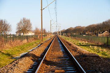 Train tracks  van