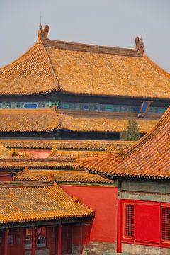 Verboden Stad, Beijing, China van Peter Apers