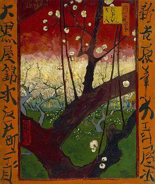 Blühender Pflaumenbaum nach Hiroshige, Vincent van Gogh