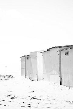 Strandhäuser entlang der flämischen Küste von Dorien Koppenberg