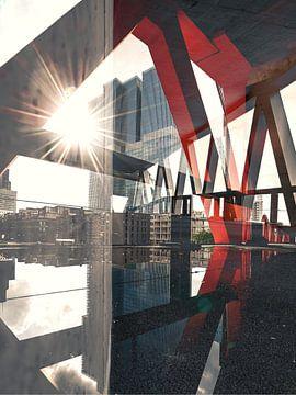 PixelBlend Art - Rotterdam van Patrick van Lion