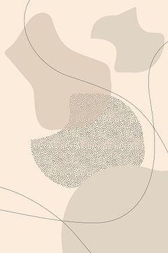 Mid-Century Modern Nr. 2 | braun von Melanie Viola