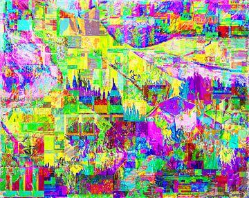 Van Gogh- und Zanolino-Glitch-Felder von Giovani Zanolino