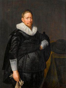 Portrait d'un homme, probablement de la famille Pauw, Paulus Moreelse