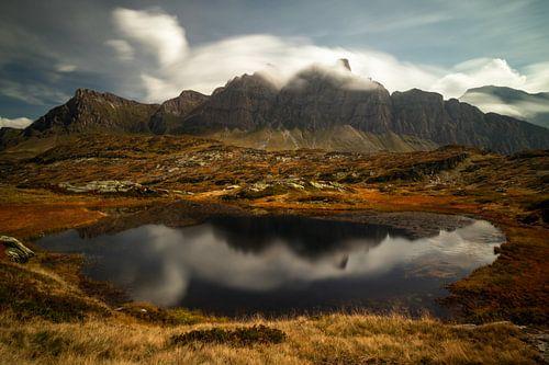 Droomlandschap Bernardinopas - Graubünden - Zwitserland van Felina Photography