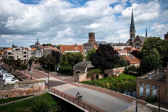 Stadsgezicht binnenstad Culemborg van Milou Oomens