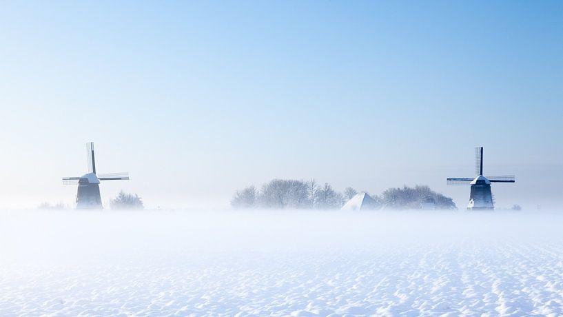 Holland in de sneeuw van Peter Korevaar