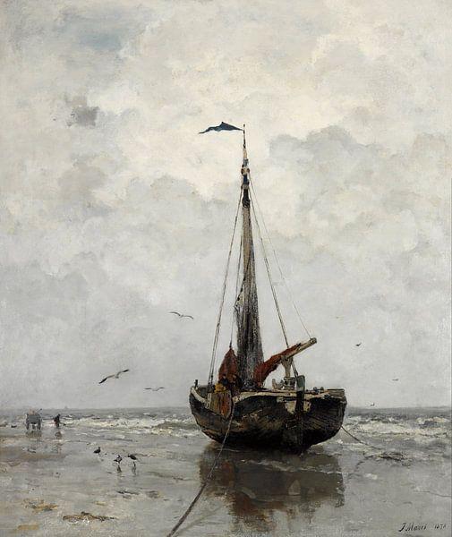 Jacob Maris - Fischerboot von Creative Masters