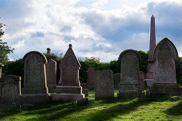 Schotland, Inverness kerkhof von Cilia Brandts
