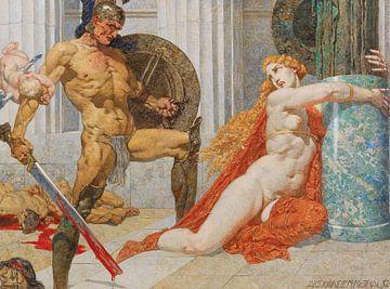 Alexander Rothaug, Menelaos findet Helena von Atelier Liesjes