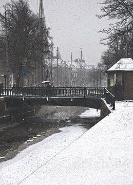 Groningen Hoge en Lager Aa van Fons Bitter