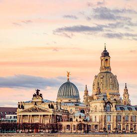 Tagesanbruch in Dresden von Daniela Beyer