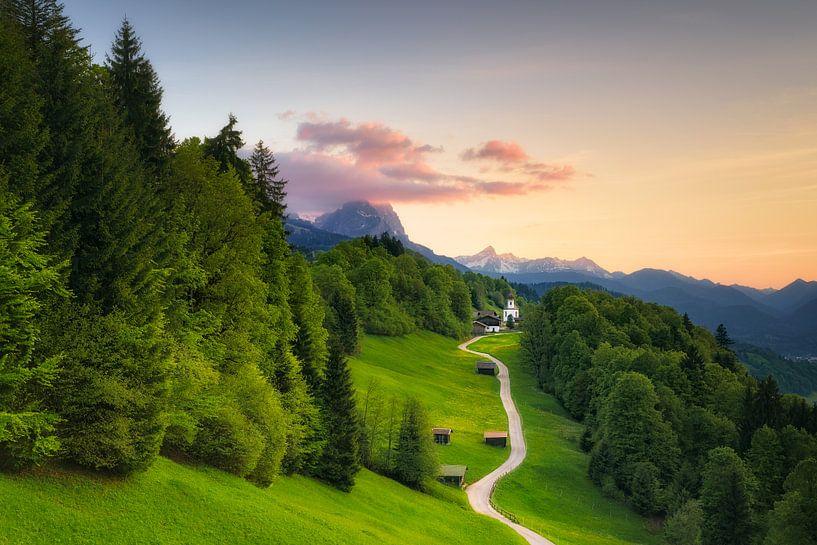 Mountain Village Wamberg (St. Anna) van Dirk Wiemer