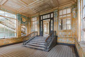 Eine Halle aus Gold