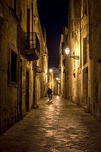 Biker in Lecce, Italy