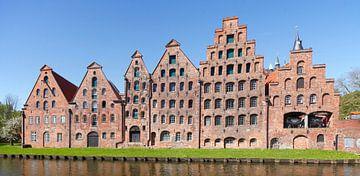 Historische Salzspeicher , Lübeck, Schleswig-Holstein, Deutschland, Europa von Torsten Krüger