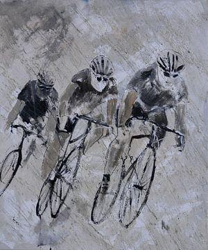 Drei Radfahrer von pol ledent